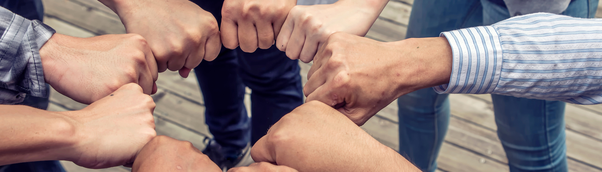 Group of Members Diverse Hands Together