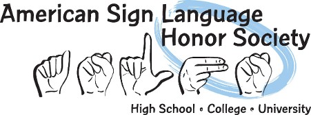 American Sign Language Honor Society